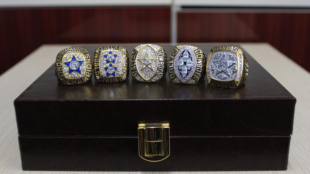 Dallas Cowboys' Super Bowl Rings