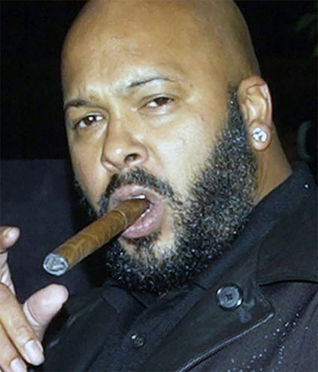 suge knight gangsta pose