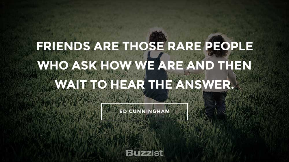 Ed Cunningham quote presented on a picture.