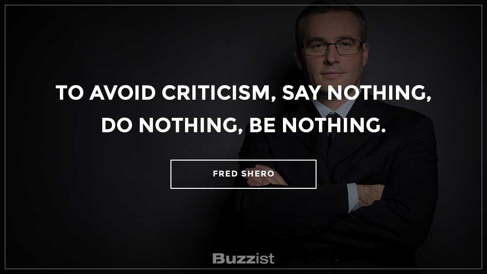 Fred Shero quote presented on a picture.