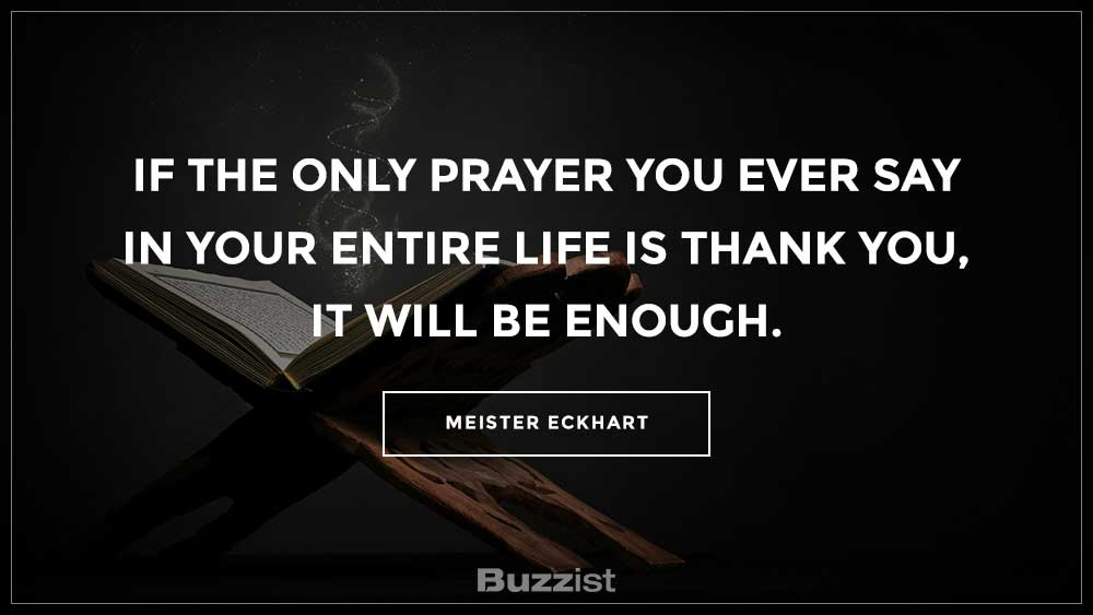 Meister Eckhart quote presented on a picture.