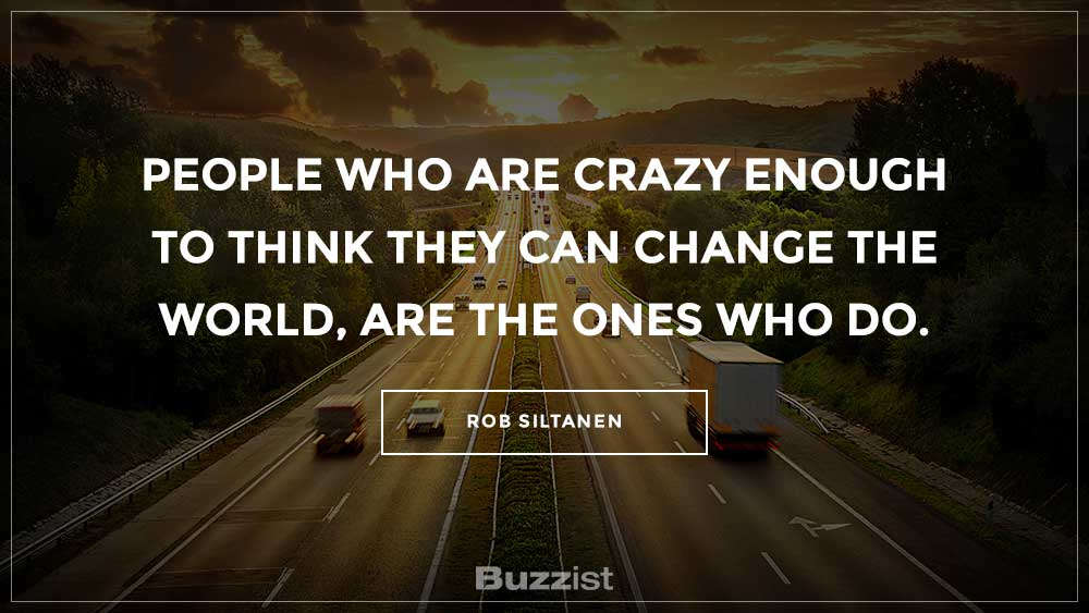 Rob Siltanen quote presented on a picture.